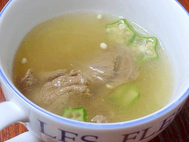韓国風牛肉スープ☆