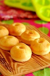 オーブンで★焼きドーナツ