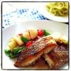鯛のポワレ レモンバターソースの参考画像