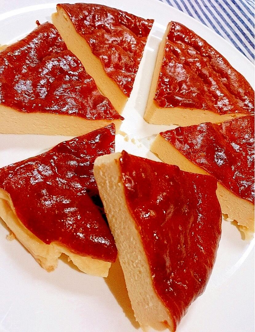 濃厚ベイクドチーズケーキ(ノンフライヤー)