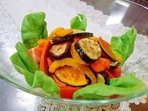夏野菜のホットサラダ