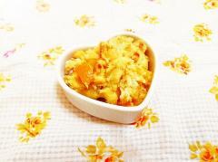 焼き芋で♪金柑風味のきんとん