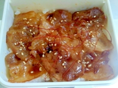 豚カルビ丼++