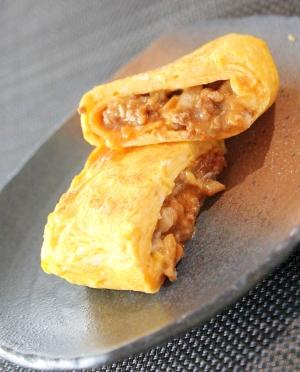 スパニッシュ オムレツ ひき肉