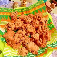 レーズンと無花果のハニーウォールナッツクッキー