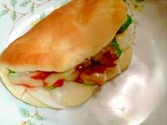 パーカーハウスのサンドイッチ