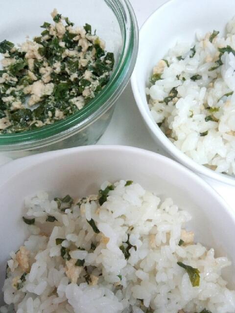 簡単お昼に。常備菜活用の炒飯