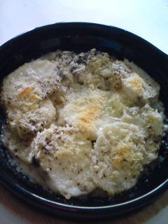 山芋のグラタン風オーブン焼き