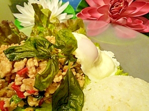タイの思い出♪ガパオご飯