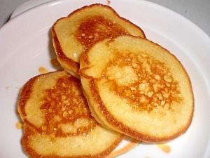 バターがじゅわ~なサクサクふわふわパンケーキ