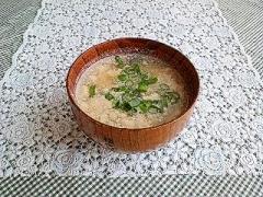 余った卵白で❤かき玉味噌汁