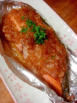和洋折衷の美味!鮭のバター・ホイル焼き