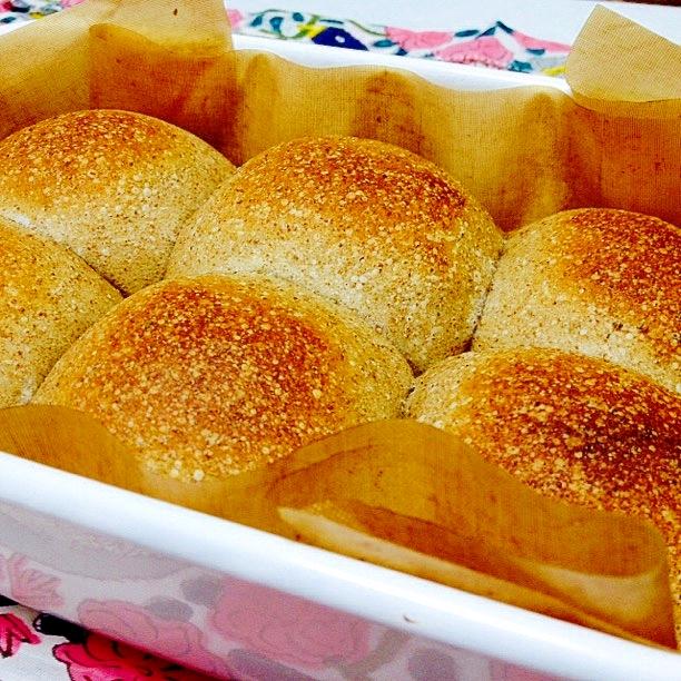 3. どんぐりでふっくらパン