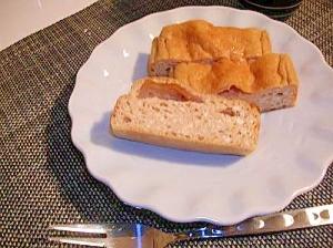 たまご焼き?!イソフラボンのパウンドケーキ