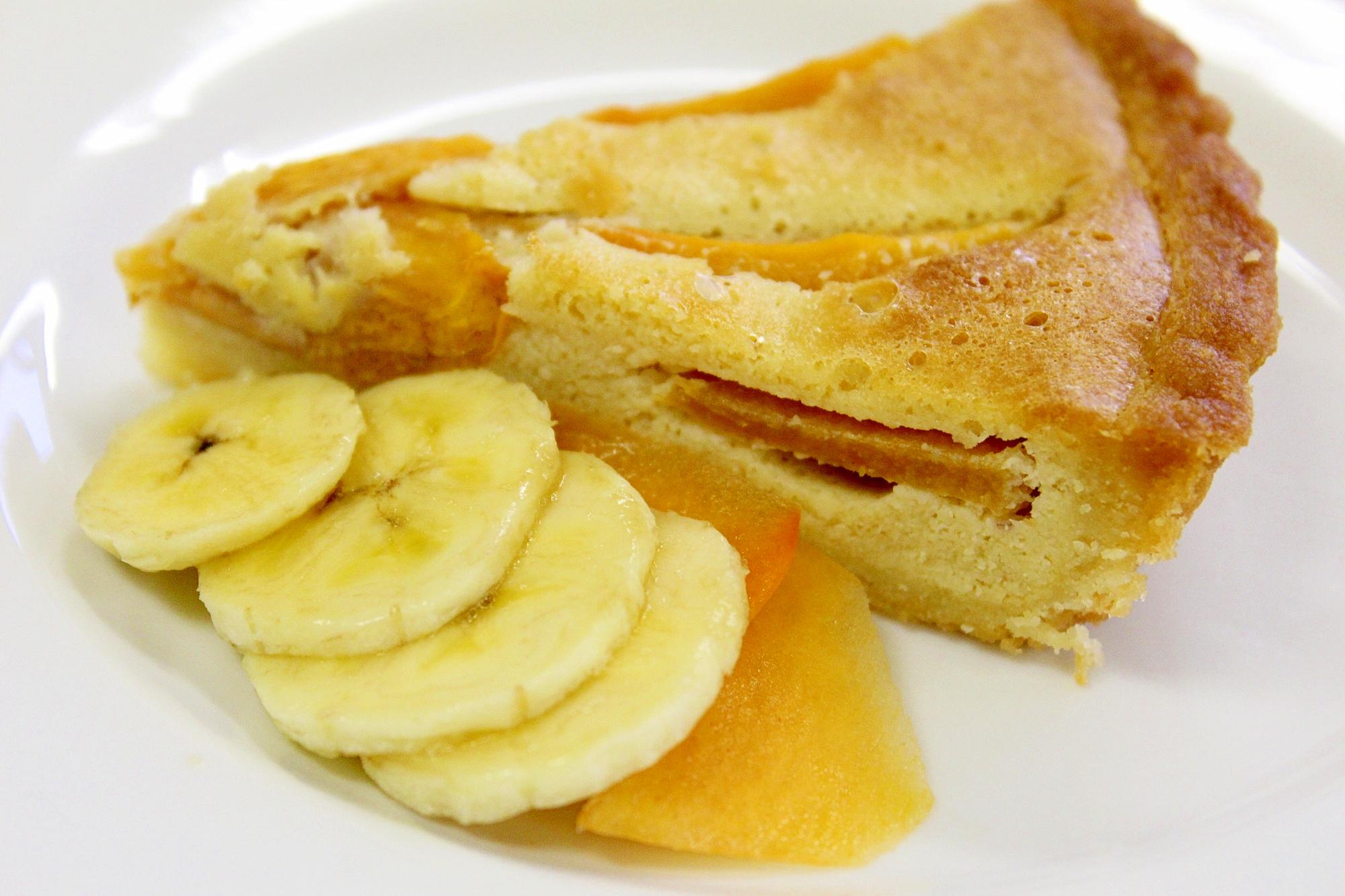 柿タルト 小麦粉不使用 レシピ・作り方