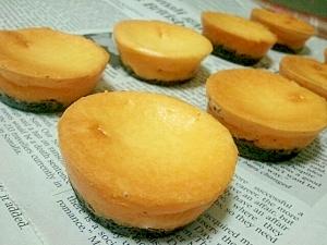 簡単♪OREO味のプチチーズケーキ