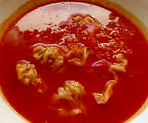 自己流☆ウクライナ風ペリメニのスープ