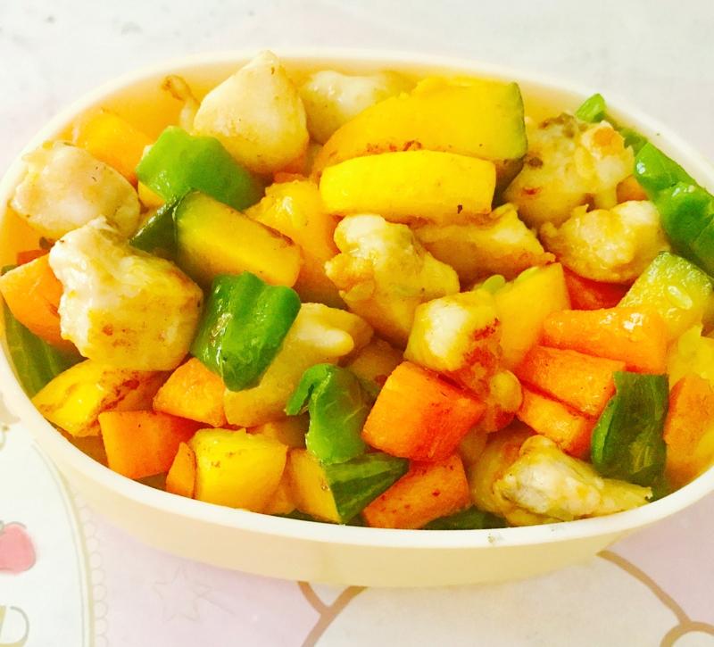 2. ぼんじりと野菜の塩炒め