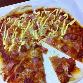 クリスピー ピザ レシピ