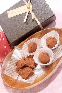 カロリー75%オフクリチで濃厚&簡単過ぎる生チョコ