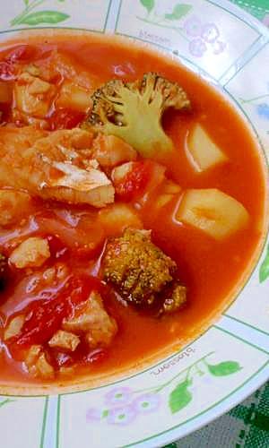 たらのブイヤベース風★簡単スープ