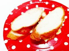フランスパンで♪卵炒めサンドイッチ