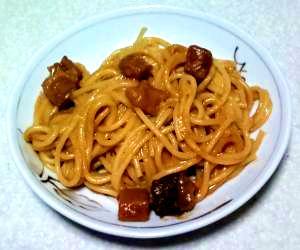 簡単!カレースパゲティ