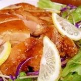 鶏の甘酢あんかけ レモン風味