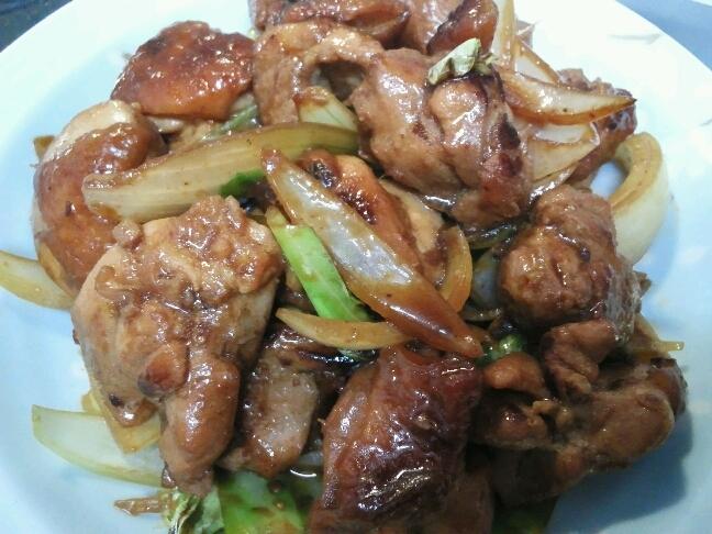 ご飯が進む鶏肉と野菜炒め