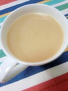 ホッと☆おしるこ風味のほうじ茶ミルクティー♪