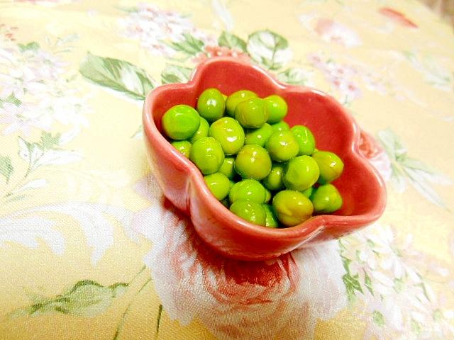 ほんわり山葵えんどう豆の塩ゆで