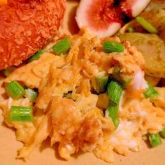 にんにくの芽の中華風卵炒め
