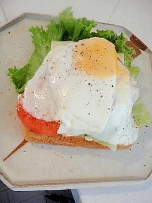 ソーセージステーキ&チーズ&エッグ☆トースト