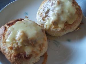 簡単おかずパンツナ&チーズパン
