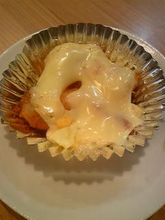 冷凍エビフライの手作りタルタルチーズ焼き♪