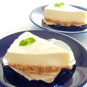 ヨーグルト レアチーズ ケーキ 簡単