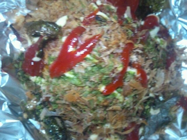 ワッフル(トマトジュース&サラミ)南瓜+かつお節