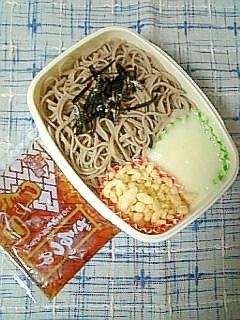 ☆たぬきとろろ蕎麦弁当☆