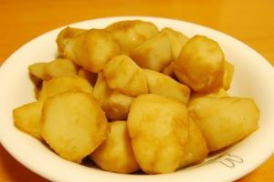 竹の子芋(京いも)の煮物