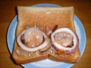 中華うま煮サンド