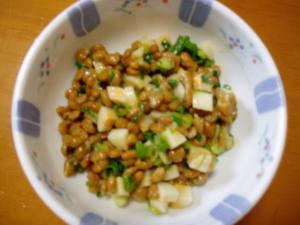 チーズかまぼこ納豆