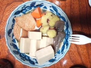 定番!高野豆腐の炊き合わせ