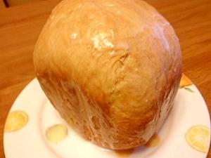 ホームベーカリーで☆砂糖衣をつけた白いココアパン♪