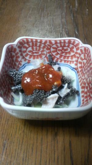 小さいおかず~センマイの酢味噌