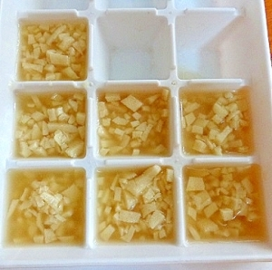 パサパサ 離乳食 豆腐 冷凍