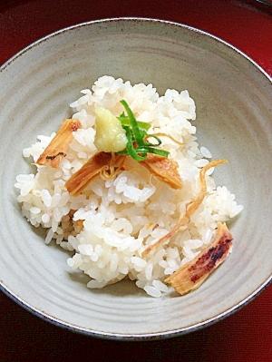 炊飯器で簡単★あたりめの生姜炊きこみご飯