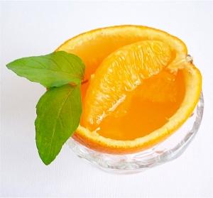 オレンジゼリー レシピ・作り方 ...