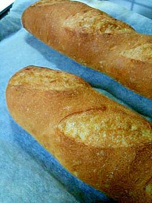 捏ねはHBにおまかせ☆簡単フランスパン レシピ・作り方