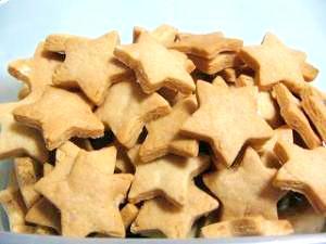キラキラ星のクッキー