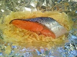 *鮭のホイル包み焼き*